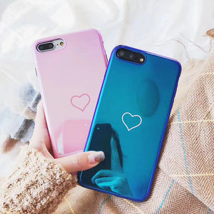 Accessories - [NEW] Glossy Pink Heart Full Cover Case